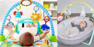 alfombra de juego y gimnasio para bebes